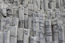 Basalt Columns on Reynisfjara Black Sand Beach