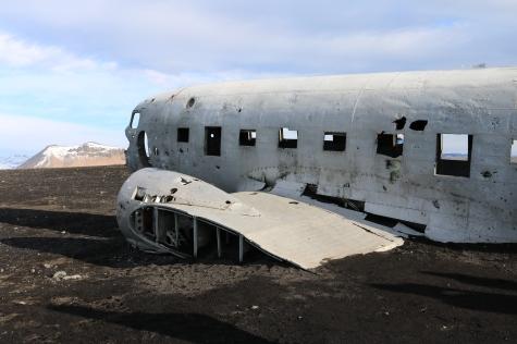 DC Plane Wreckage